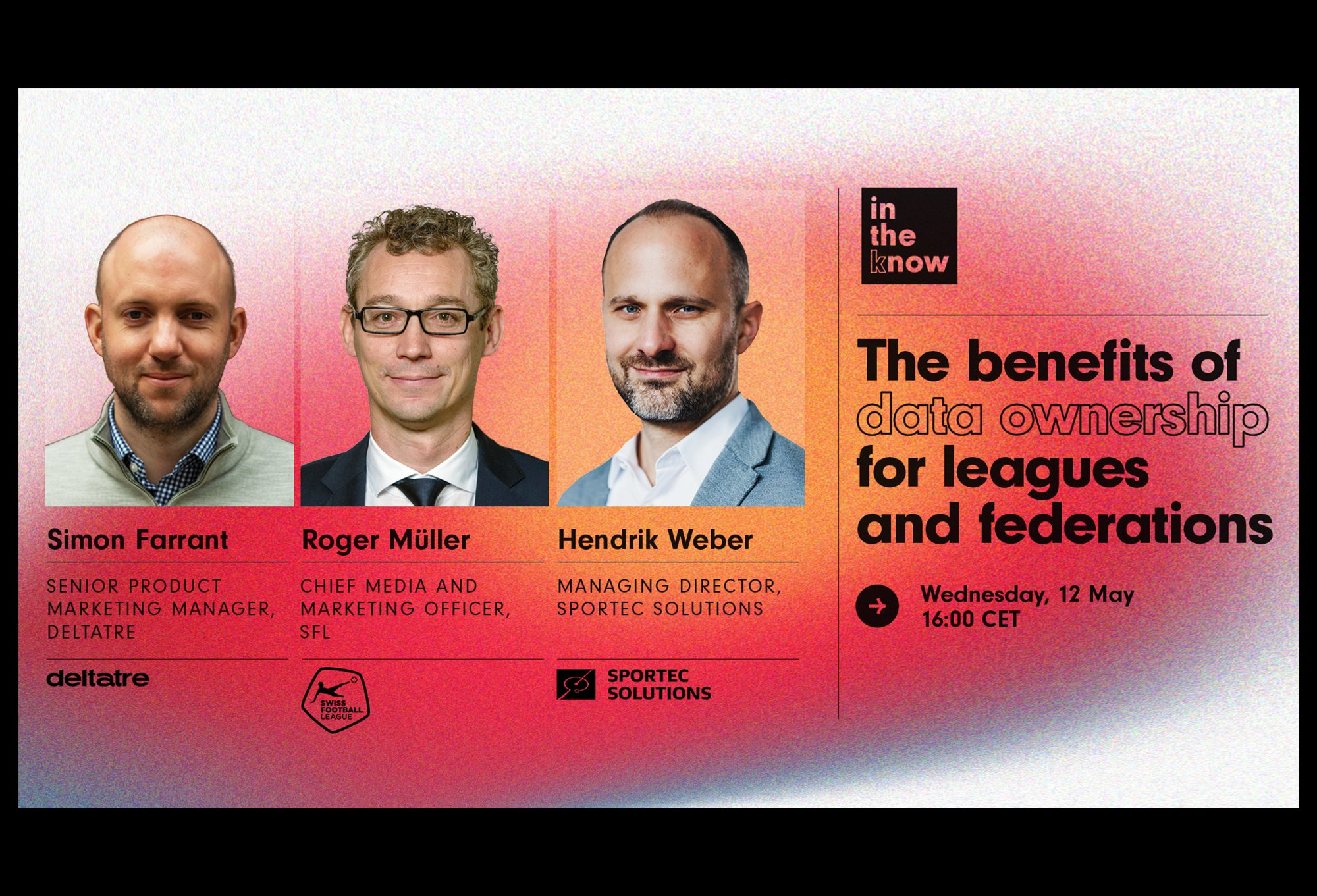 The benefits of data ownership for leagues and federations – Deltatre webinar