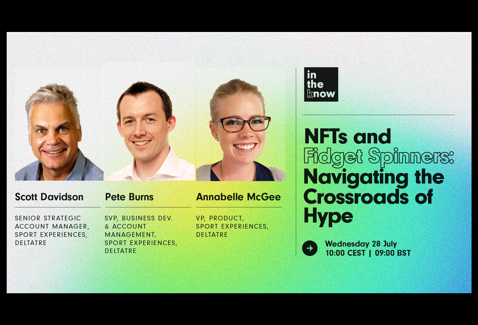 NFTs and Fidget Spinners: Navigating the Crossroads of Hype – webinar cover