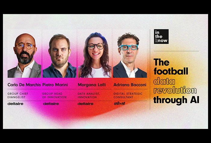 The football data revolution through AI – Webinar cover