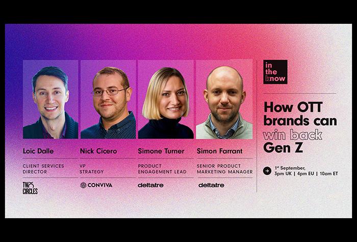 How OTT brands can win back Gen Z – Webinar cover